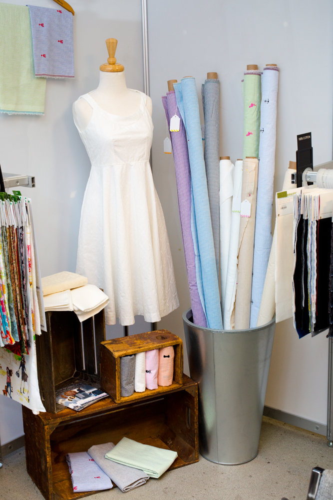 Featuring  Seersucker ,  Seersucker Embroideries ,  Rebecca Embroideries,   Rebecca Embroideries Deluxe , and  Raw and Refined   on women's form-  Lorelei Dress  by  E-Beth Designs , made by Andrea Taddicken ( Knitty Bitties ), Rebecca Embroideries  (SRK-15202-1)