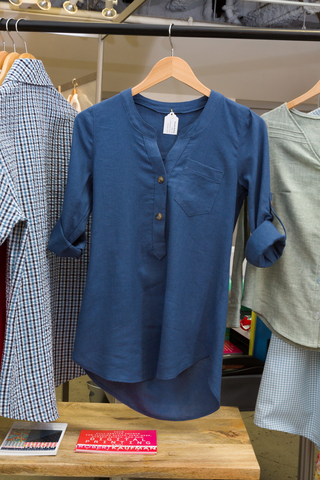 Cheyenne Tunic   by     Hey June ,  made by   Andrea Taddicken  , Featuring   B    russels Washer.