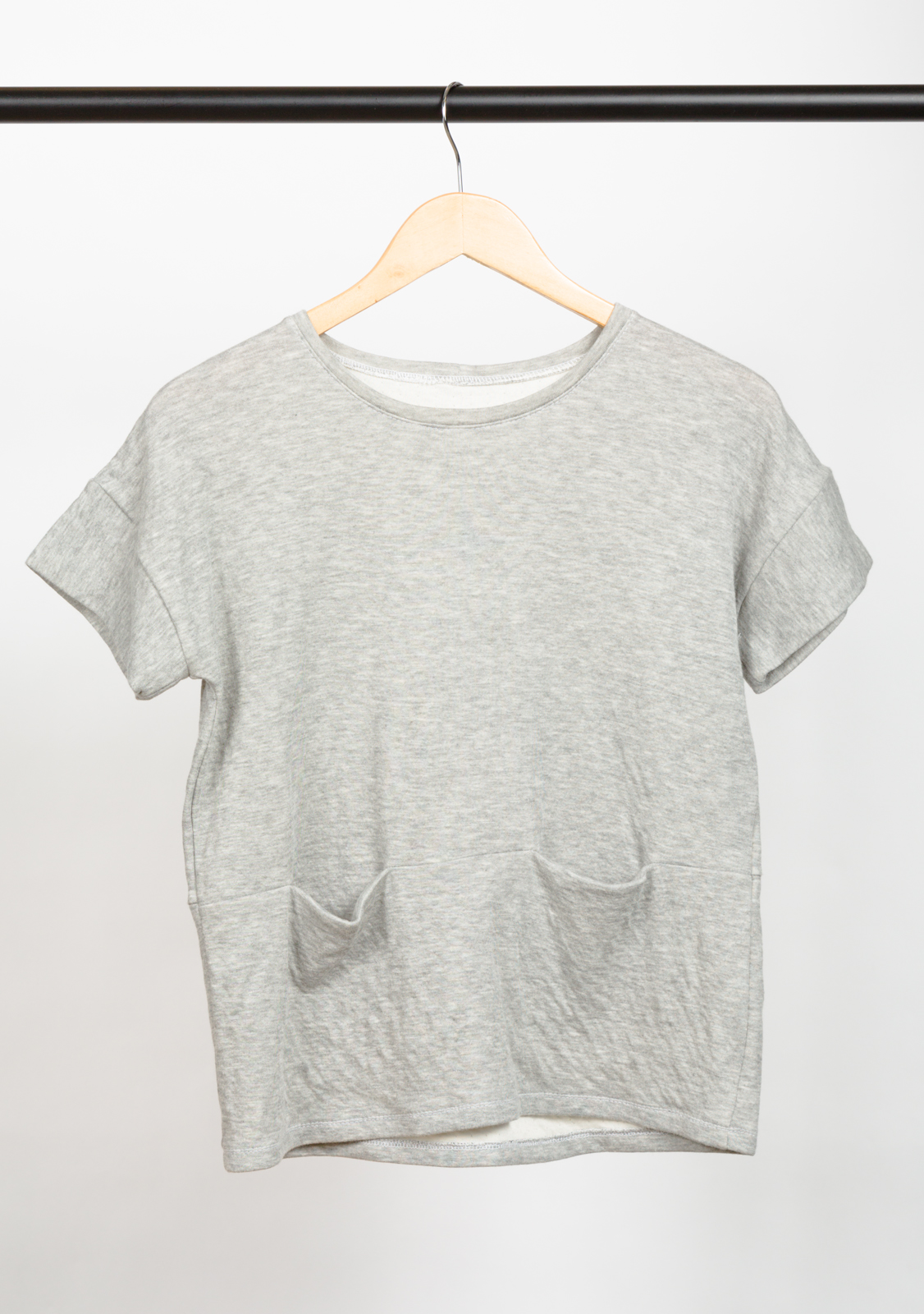 BENTO TEE  , DESIGNED BY   LIESL & CO,    MADE BY   CHRISTINE HAYNES ,  FEATURING   DOUBLE LAYER JERSEY