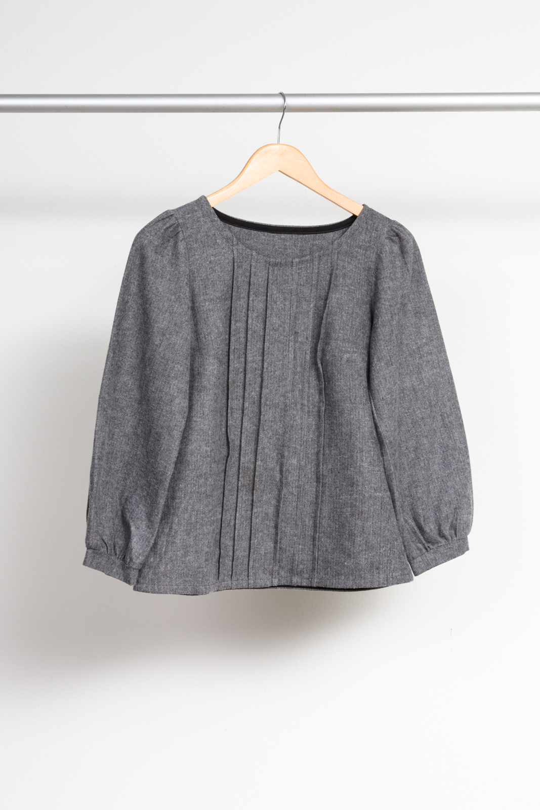 JOSEPHINE BLOUSE BY MADE BY RAE ,  SHETLAND FLANNEL