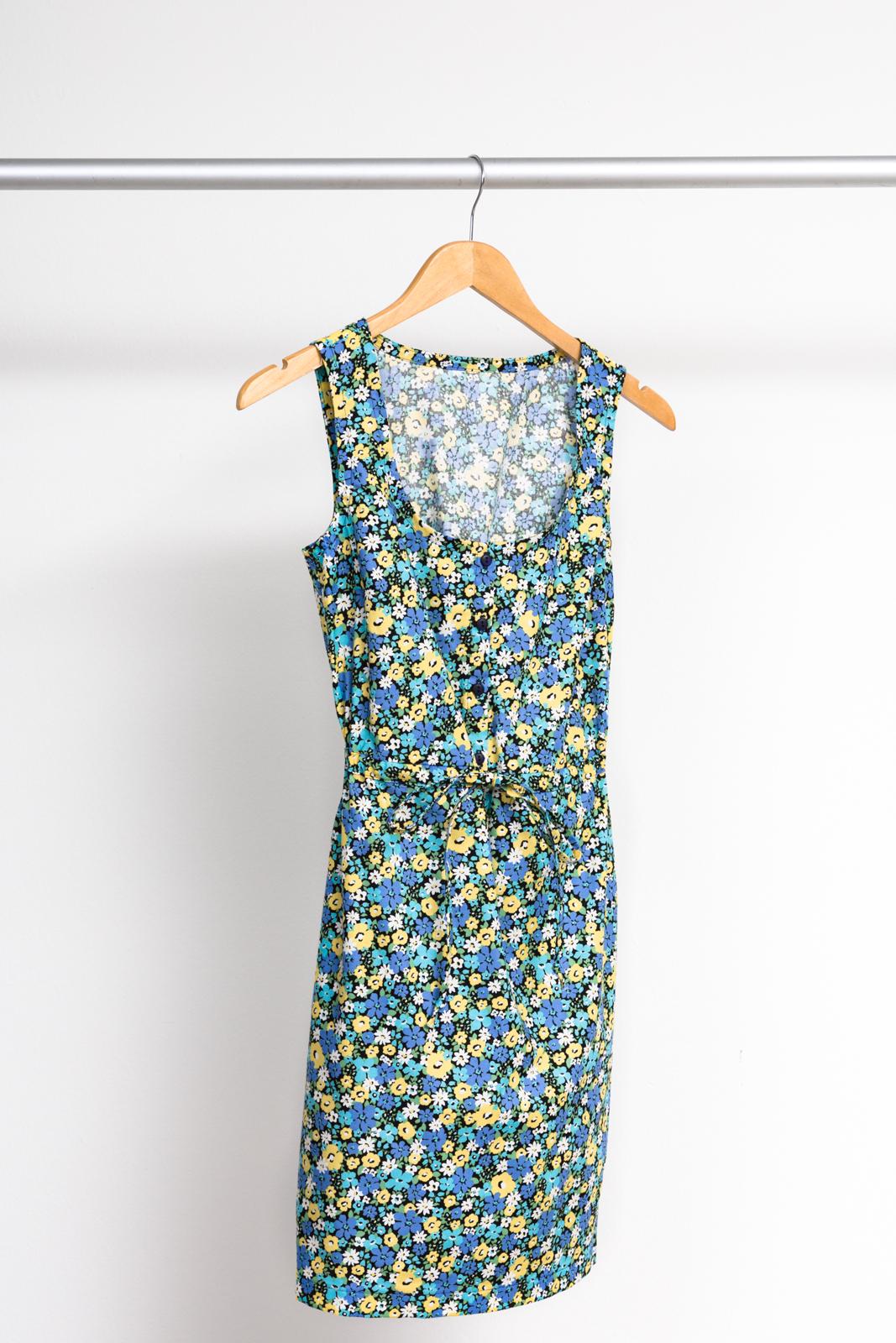 SOUTHPORT DRESS  BY  TRUE BIAS PATTERNS ,  SEVENBERRY: FLORA