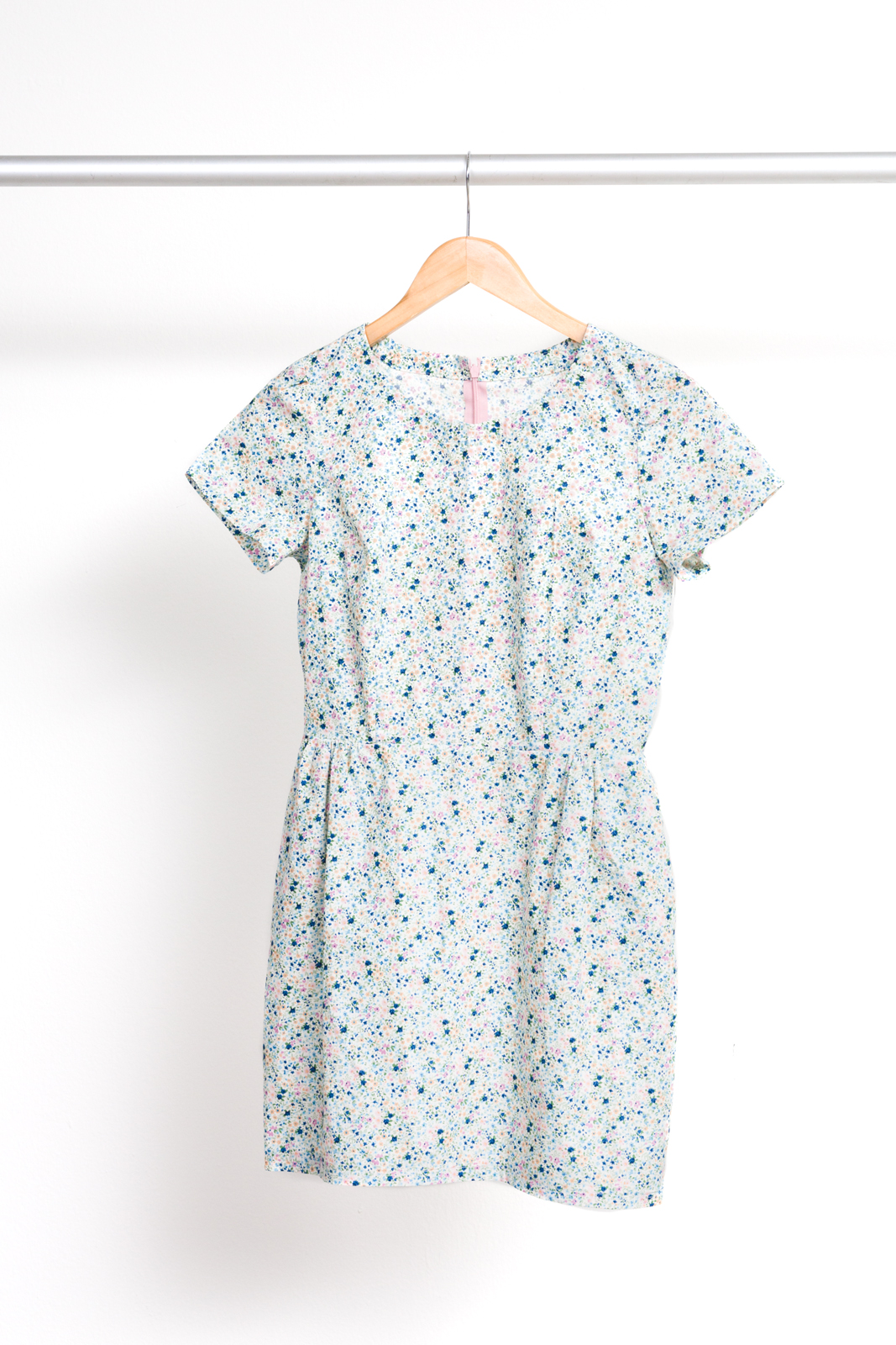 SIGMA DRESS  BY  PAPERCUT PATTERNS ,  SEVENBERRY: PETITE GARDEN