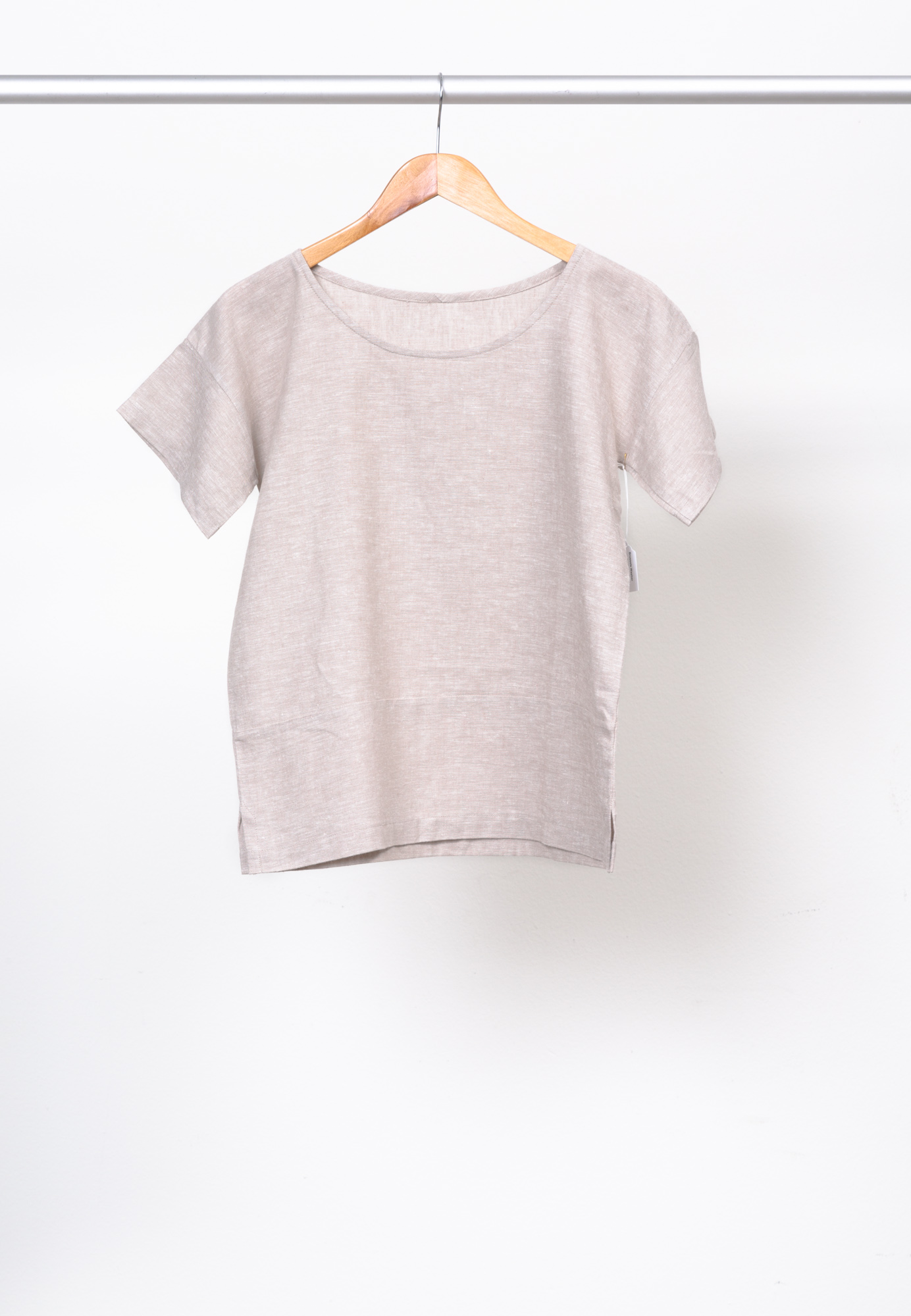 BOXY TEE   BY   PURL SOHO ,  BRUSSELS WASHER YD