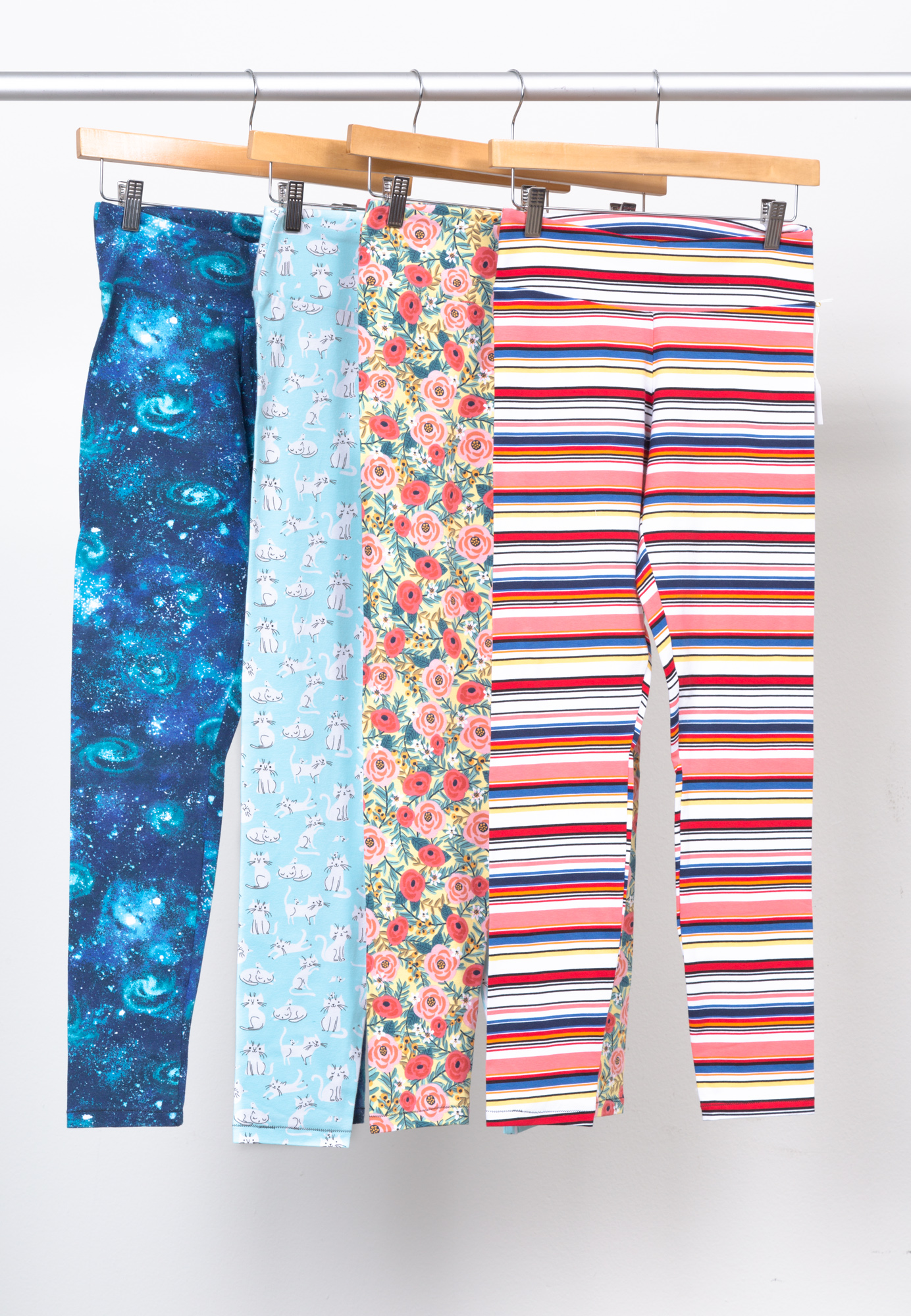 SLOAN LEGGINGS   BY   HEY JUNE HANDMADE ,  LAGUNA JERSEY PRINTS