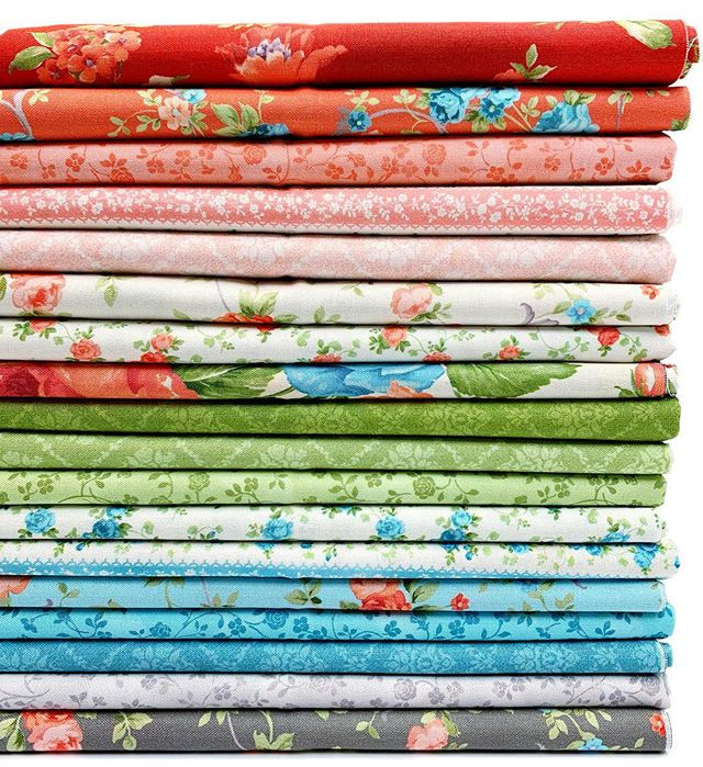 June gloom ☁️☁️ has us reaching for some bright and cheery fabrics, like these new Cassandra fabrics heading to stores right now!!! 🌹 💐What do you do to brighten gloomy days?? Tell us below!☀️