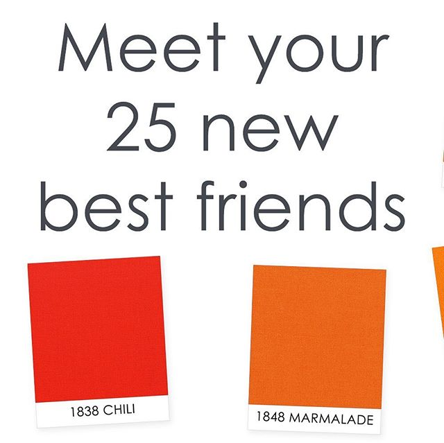 Meet your 25 new best friends! Which are you most excited for? Tell us below, and stay tuned for more exciting news!