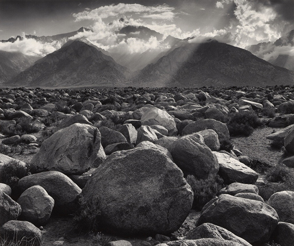 Mount Williamson by Ansel Adams. The inspiration.