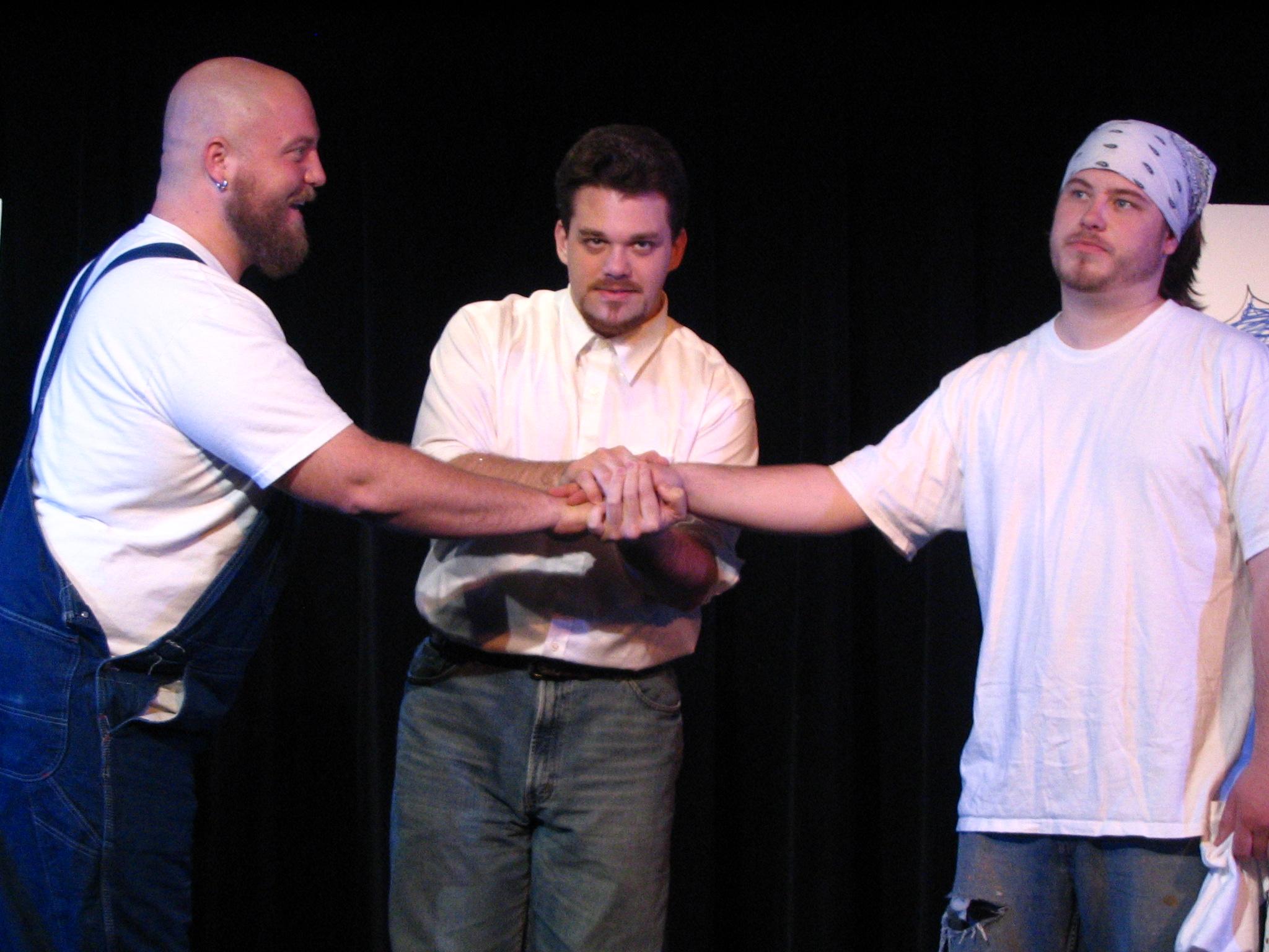 Jason Vogen, Aaron Konigsmark and Josh Vogen
