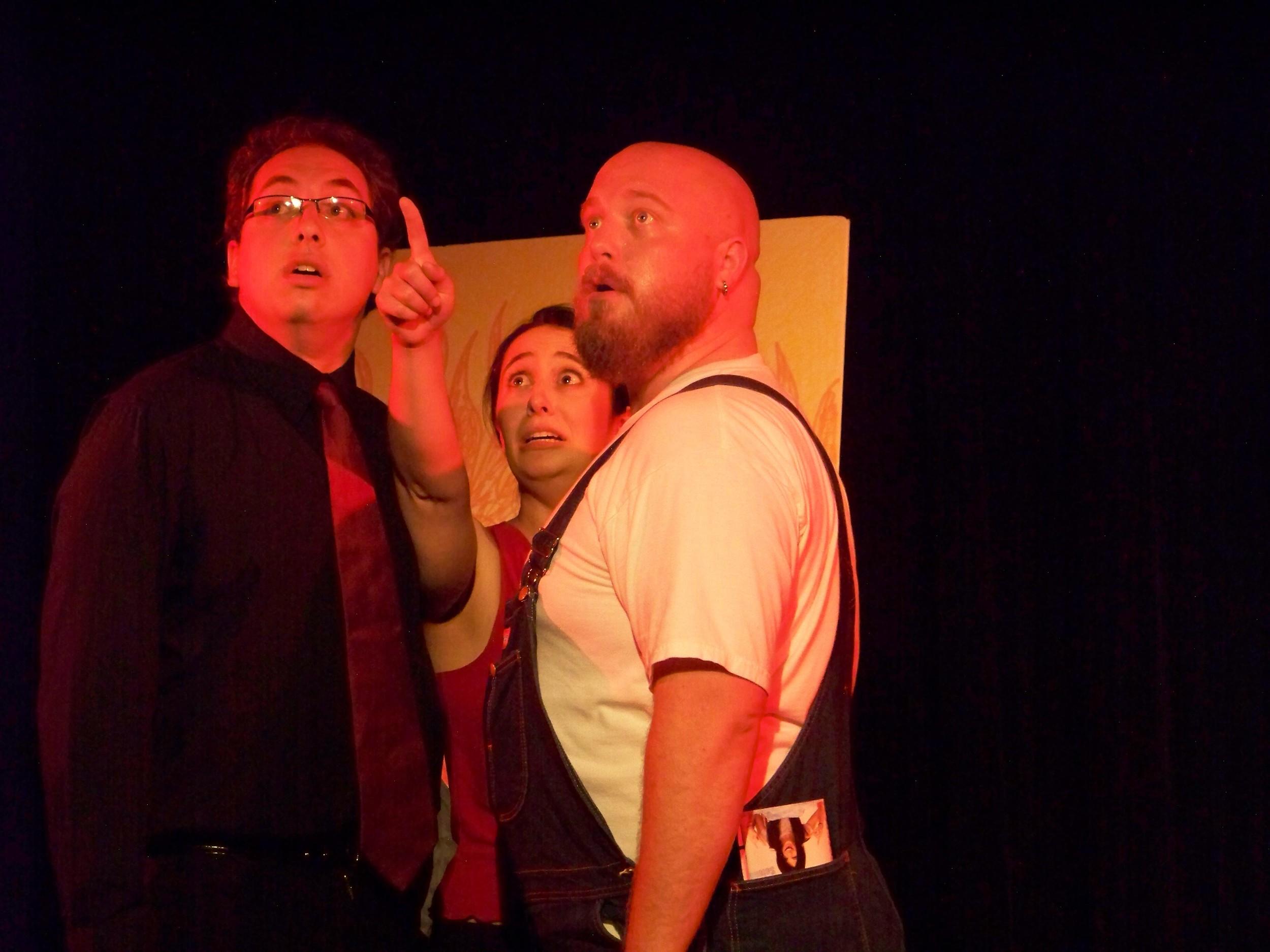 Steven Bucko, Meg DiSciorio and Jason Vogen
