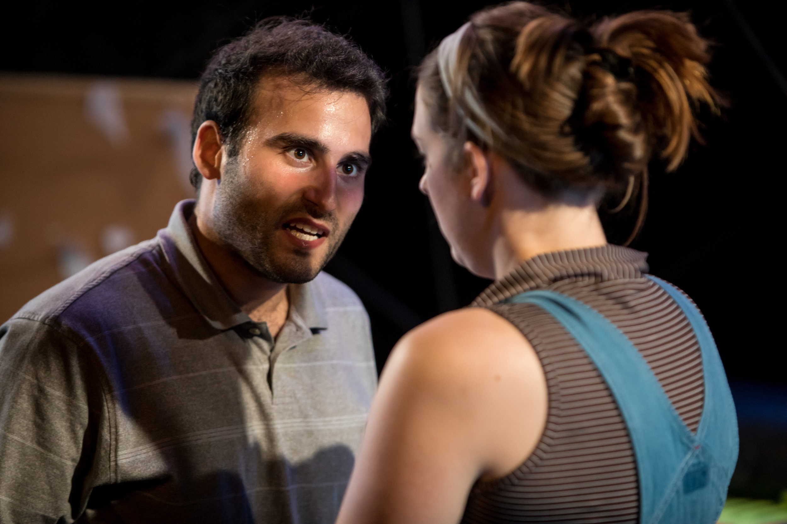 Jamie Fields as Nessa & Avi Aharoni as Greg