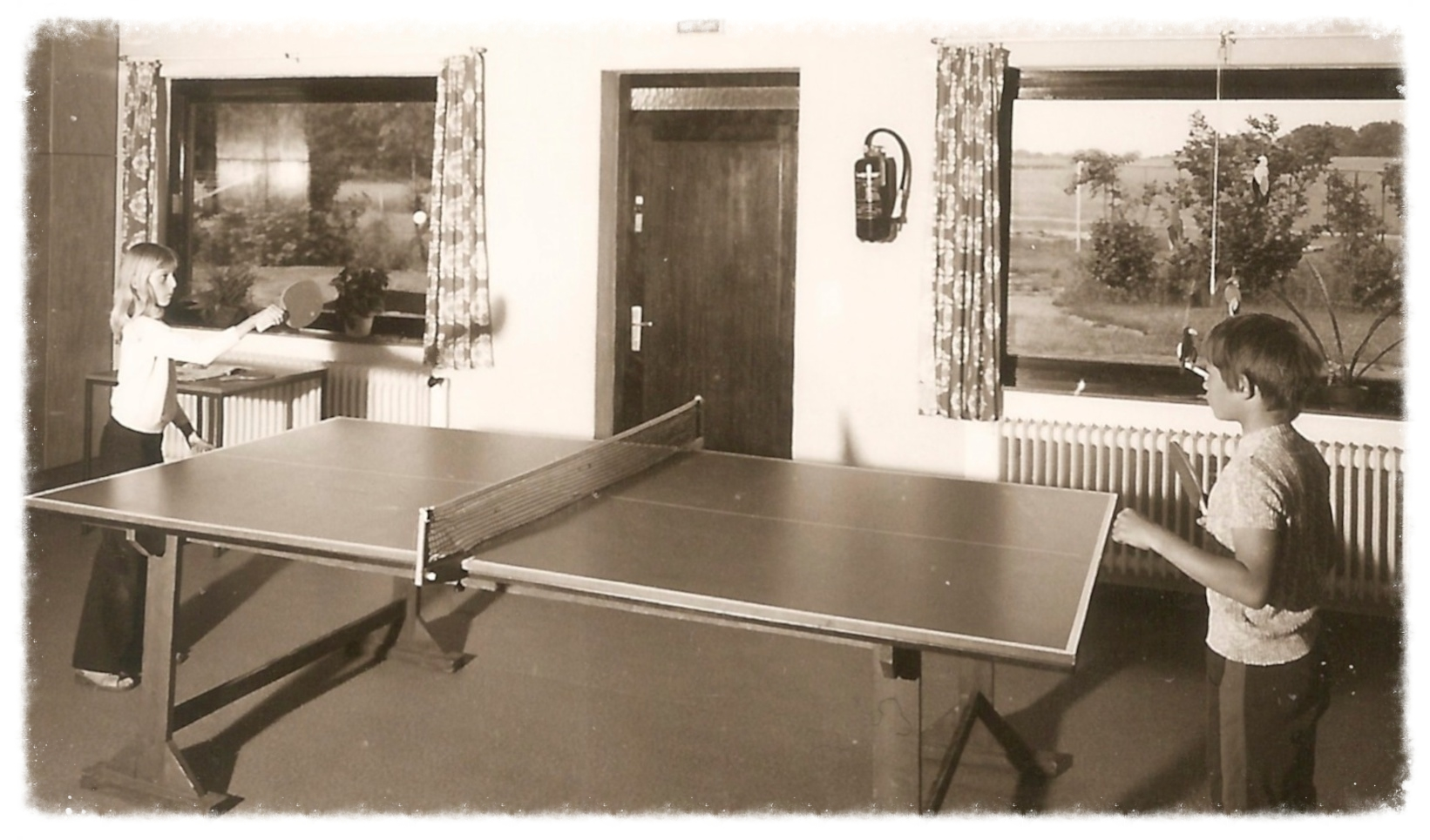Tischtennis im Schullandheim