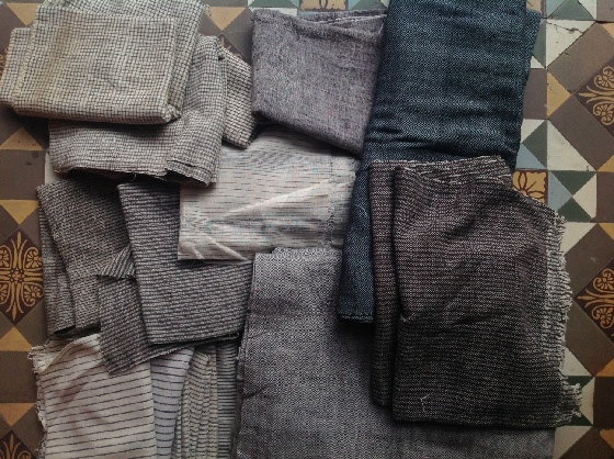 Organic cotton selected for our new Khamir quilt