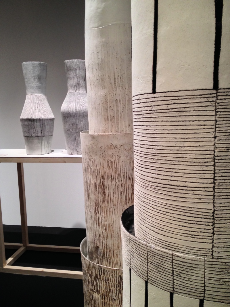 Totems and Vases by Louise Gelderblom