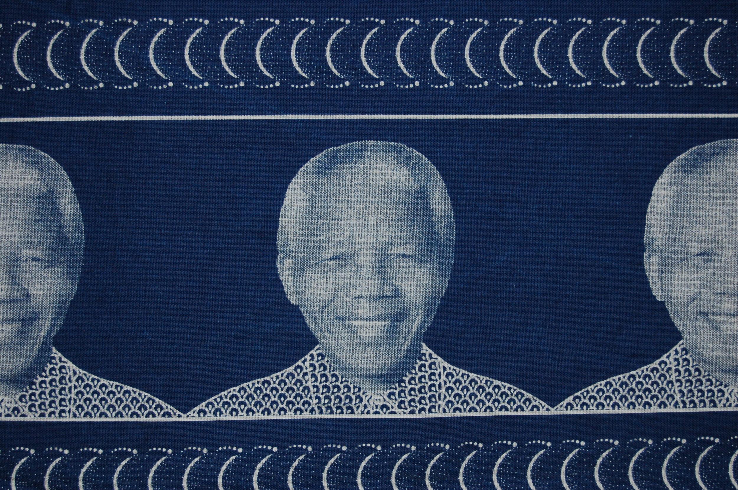 Nelson Mandela capulana, 2008, copyright: Trustees of the British Museum