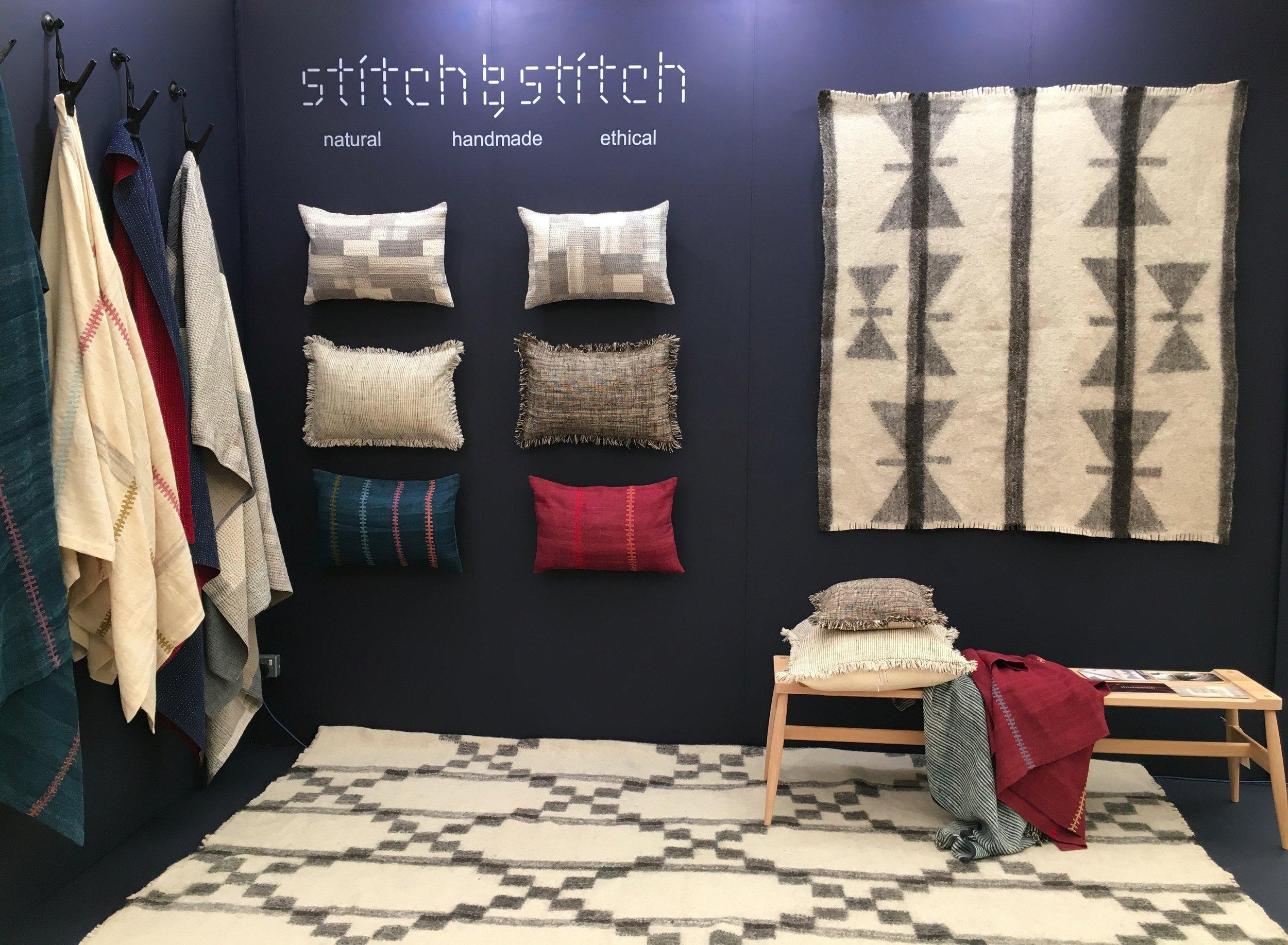 Stitch by Stitch stand at Decorex 2016