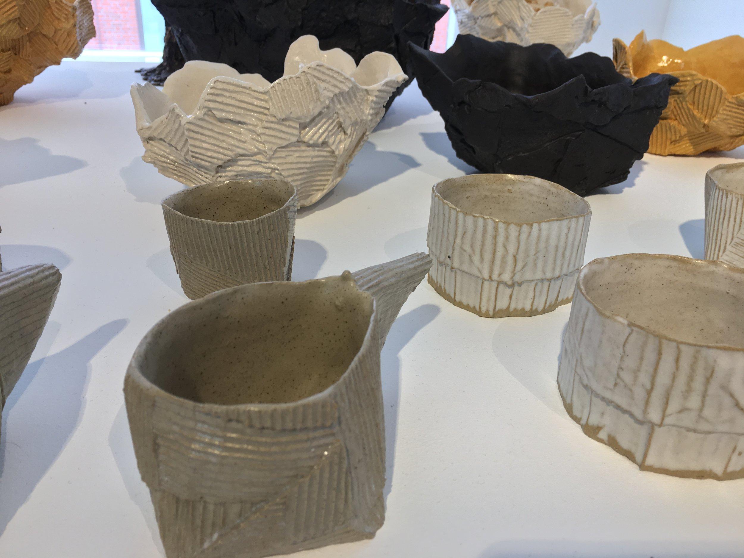 Cardboard Ceramics and Crisp Bowls, Ray G Brown