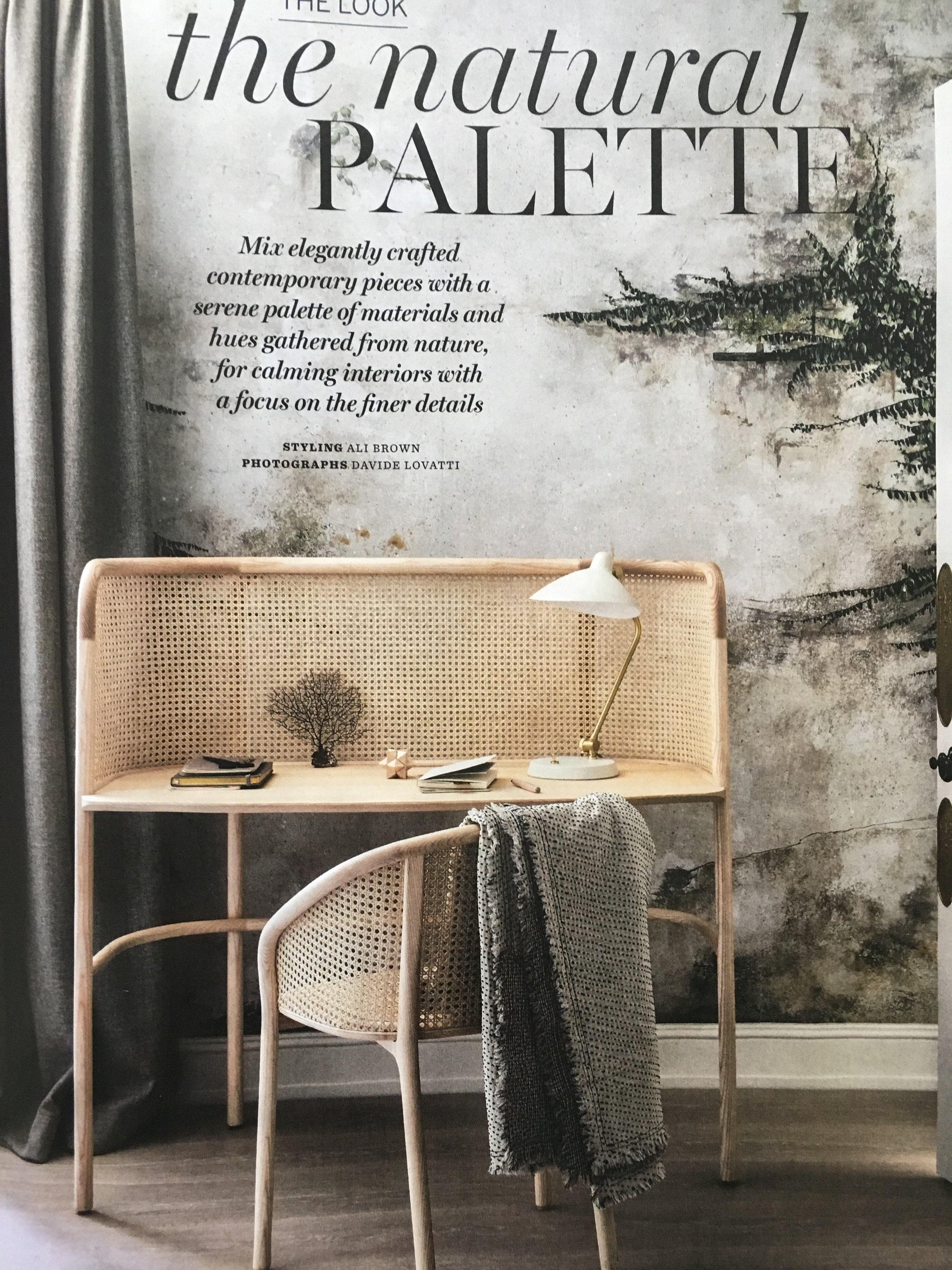The Natural Palette for Homes & Gardens November 2018
