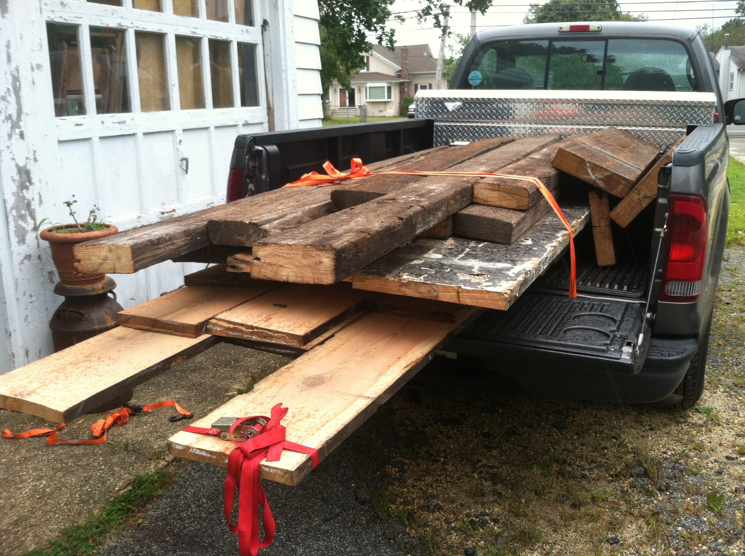 Lumber for the project