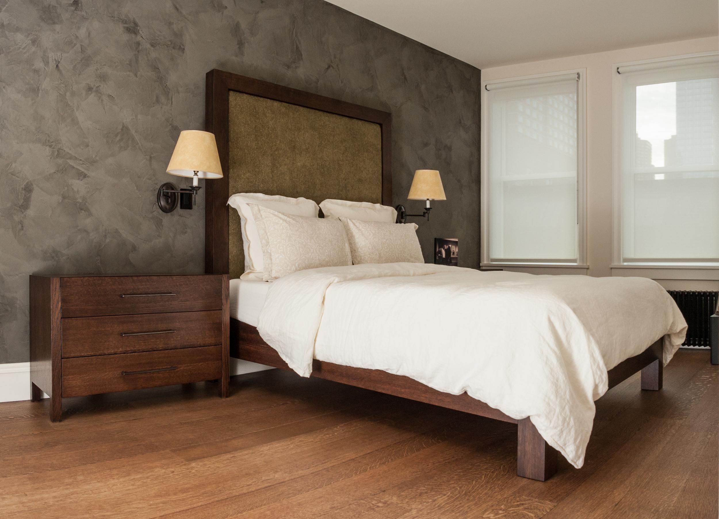 Bed + Nightstands