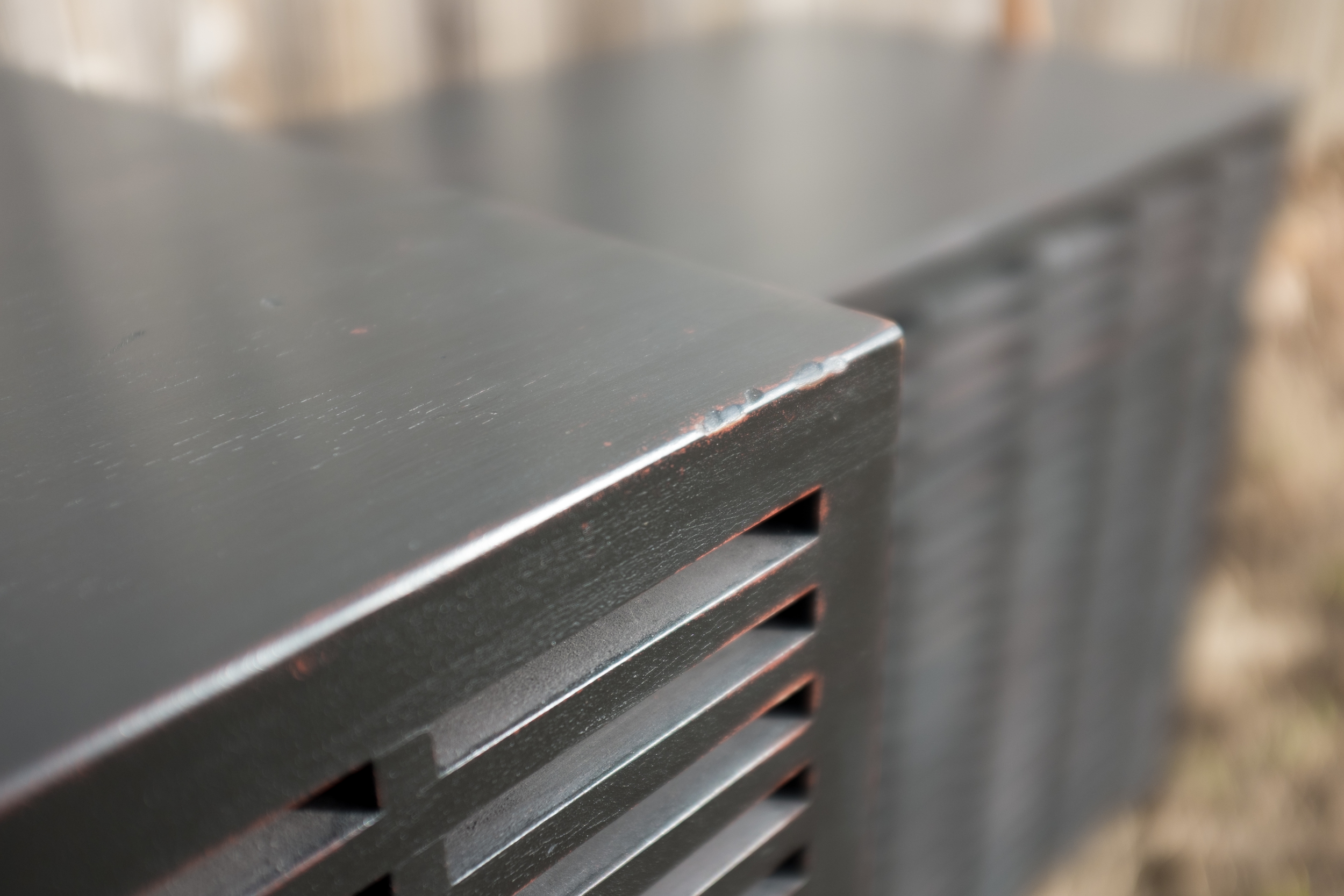 Lattice Subwoofer Cabinet (detail)