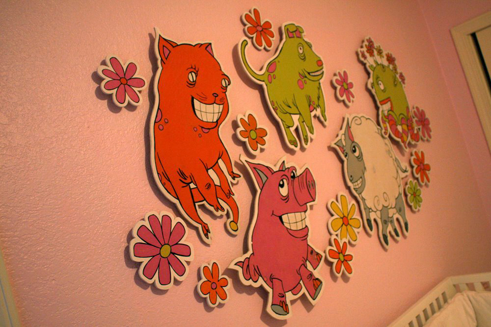 Inhabitants of Lily's baby room