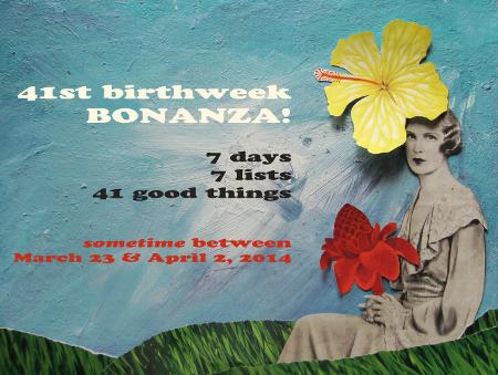 41st Birthweek Bonanza