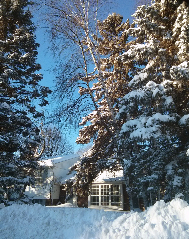 SnowstormMorningAfterHouse