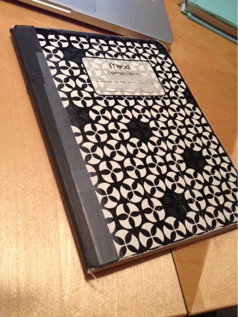 first prayer notebook
