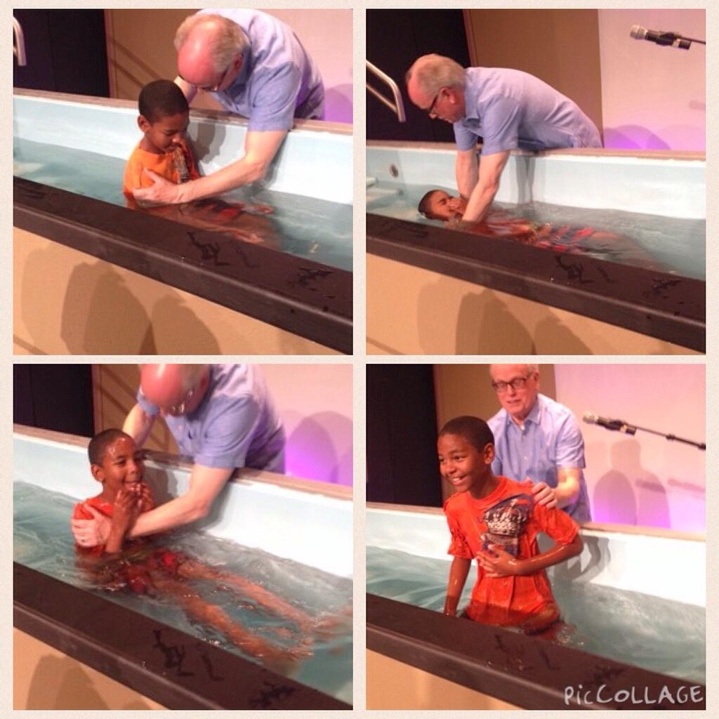 three things baptism