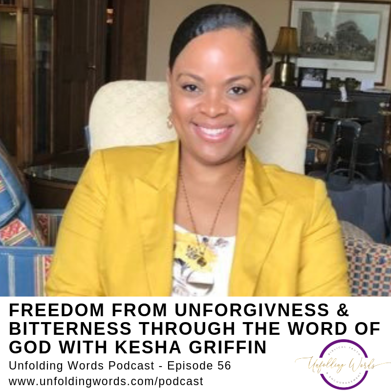 Kesha Griffin Bible Thinking Woman podcast episode