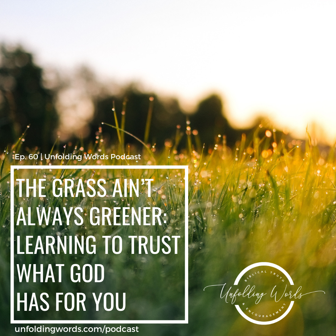 #60 The Grass Ain't Always Greener: Learning to Rest in God's Provison