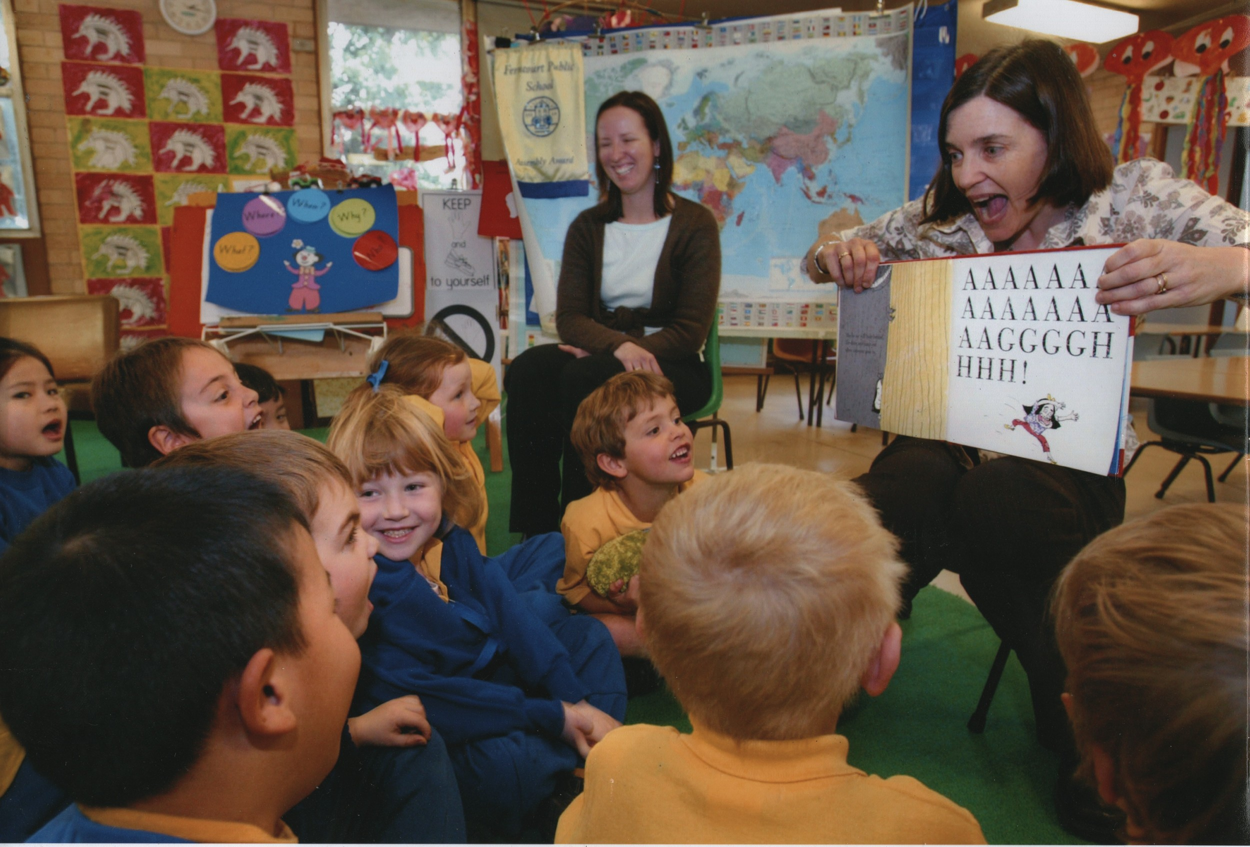 AT FERNCOURT PUBLIC SCHOOL, READING 'REX' 2005.