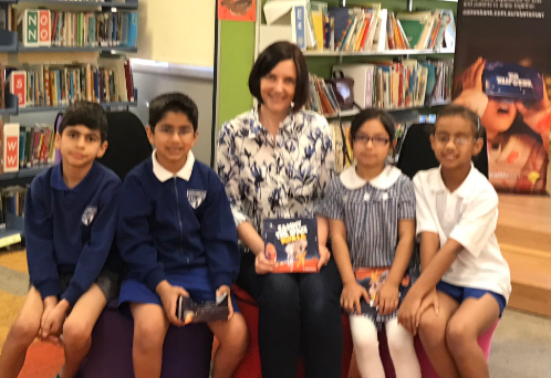 At the launch of the book and VR experrience at Merrylands East Public School