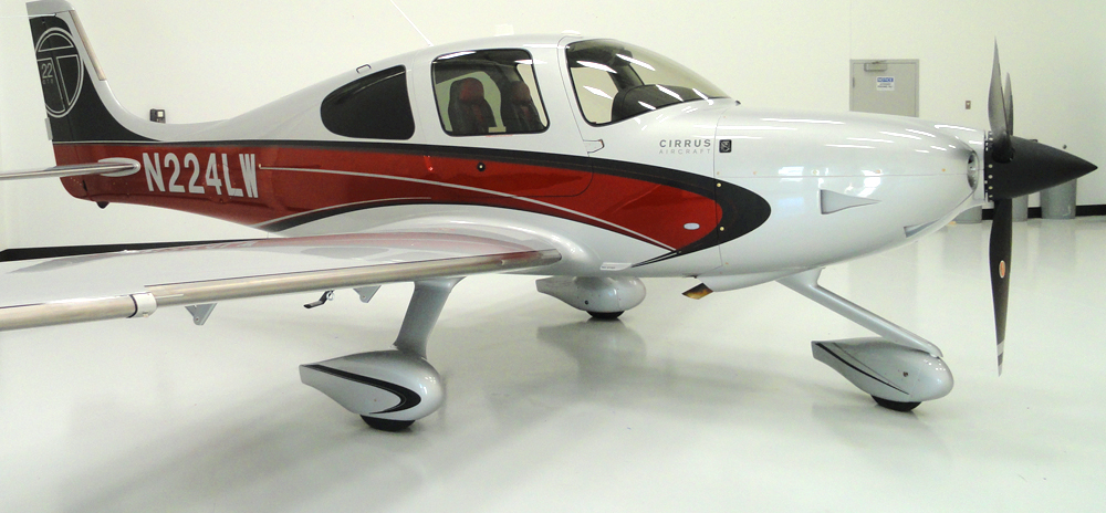 N224LW    2012 Cirrus SR22T Garmin G1000 Perspective,   FIKI  Regular Member Rate $375 HR Block Rate* $365 HR