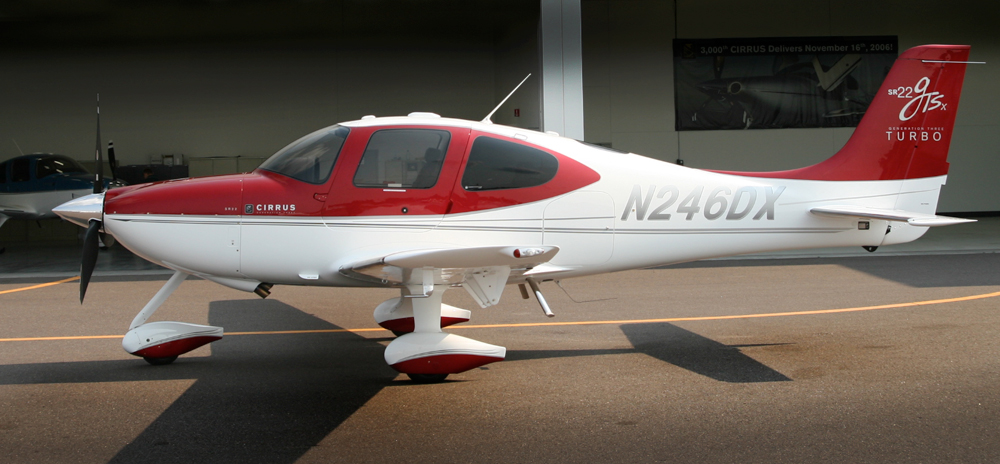 N246DX    2008 Cirrus SR22 Turbo Garmin G1000  Perspective  Regular Member Rate $355 HR Block Rate* $345 HR