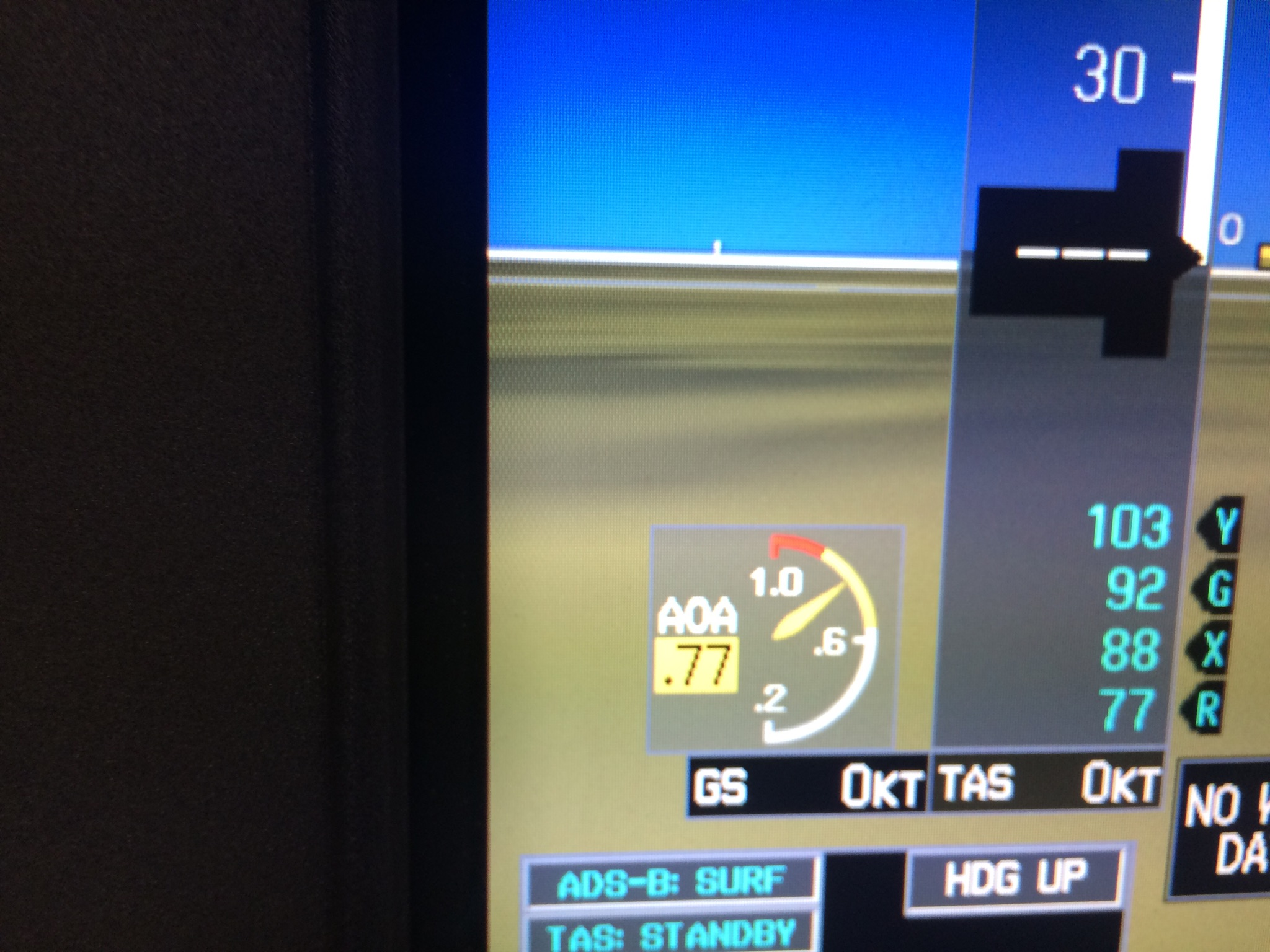 Angle of attack indicator inside the PDF!