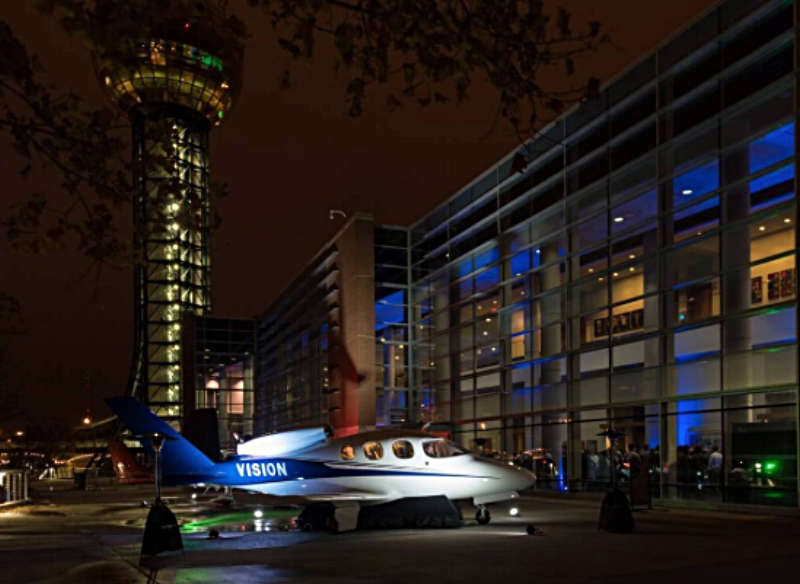 """JATO went to the Grand Opening Roll-out Event of the Cirrus Vision SF50. We see a bright future ahead"""" for the SF50 and can't wait to fly it."""