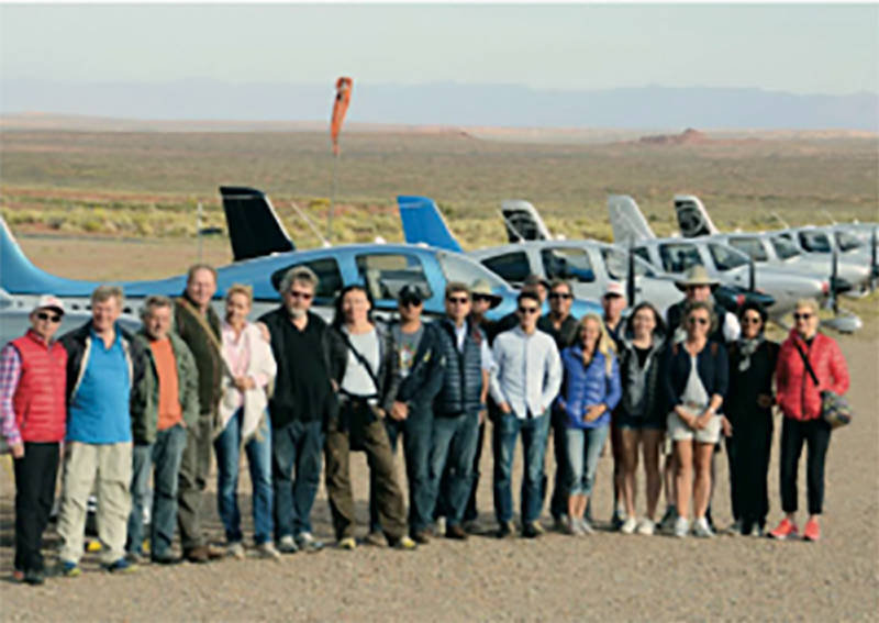 Catalina Island was a stop on a group trip of pilots from Germany. The trip was coordinated with JATO Aviation, Cirrus Germany and Fliergen Magazine.