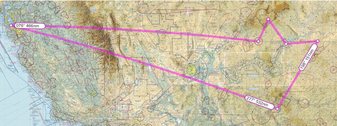 JATO Aviation Southwest Destination Flight