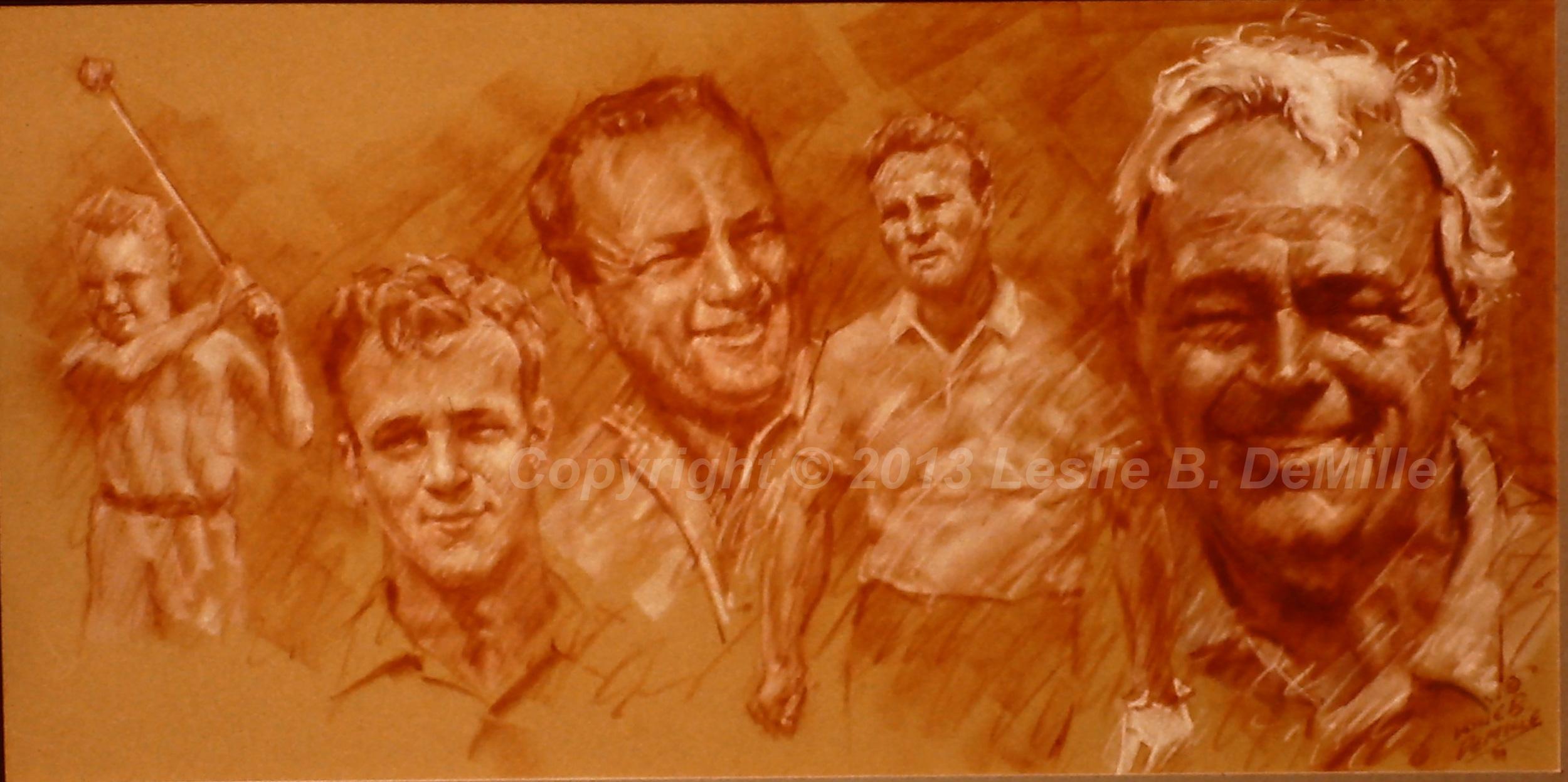Arnold Palmer 2, Sepia (20x10)