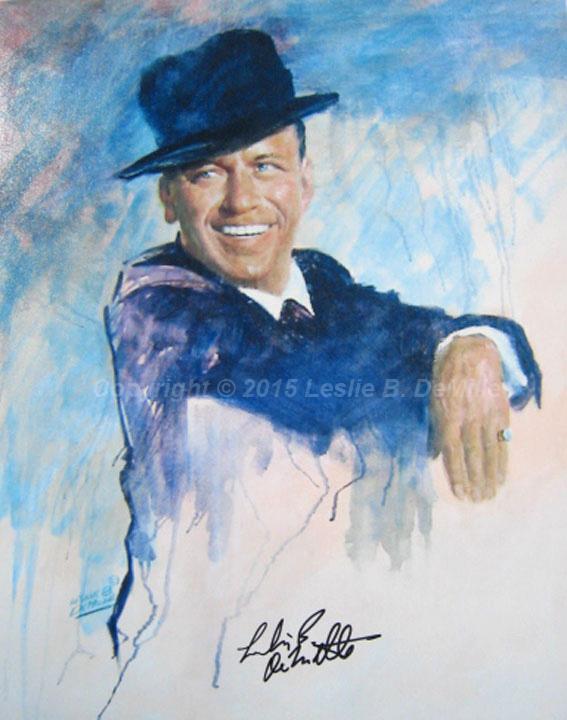 Frank Sinatra, Oil (11x14)