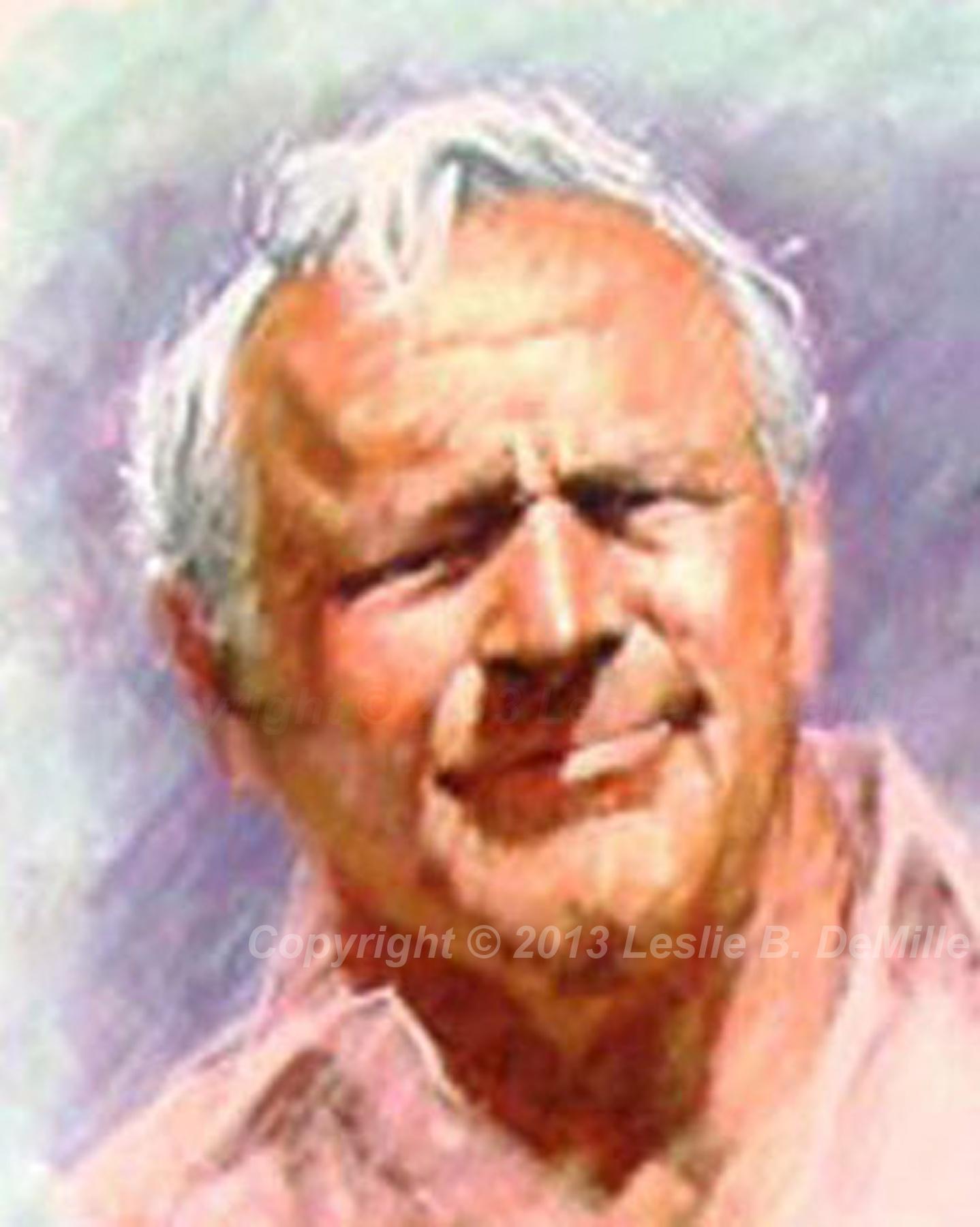 Arnold Palmer 3, Pastel (11x14)