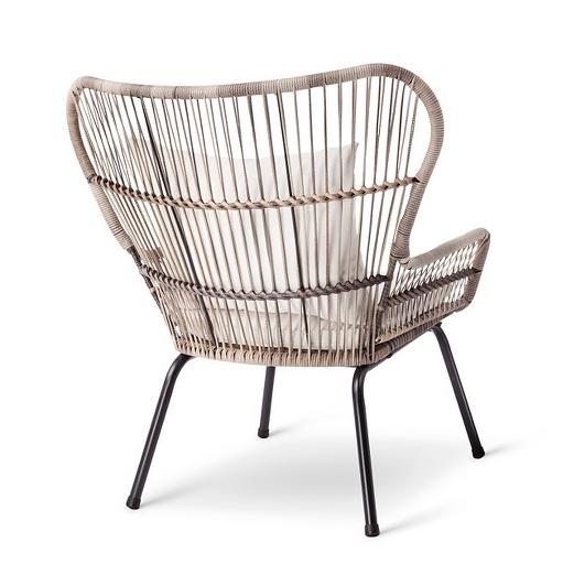Tropical Modern Rattan Chairs, Tropical Wicker Furniture