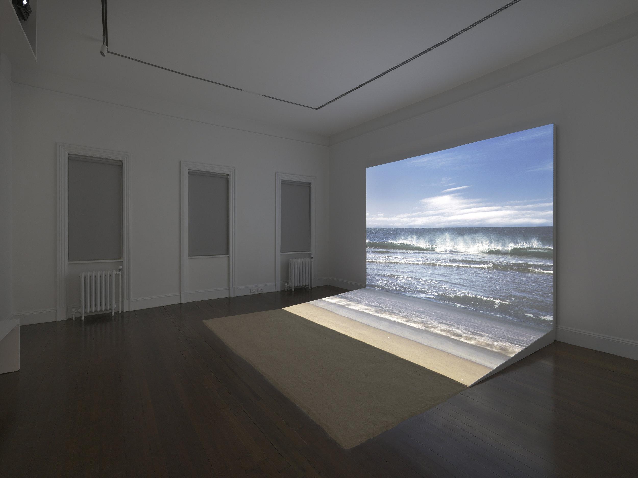 Bord de mer,2009. Agnes Varda,Installation view, 2017 Blum & Poe, New York Photo: Genevieve Hanson Courtesy of the artist and Blum & Poe, Los Angeles/New York/Tokyo