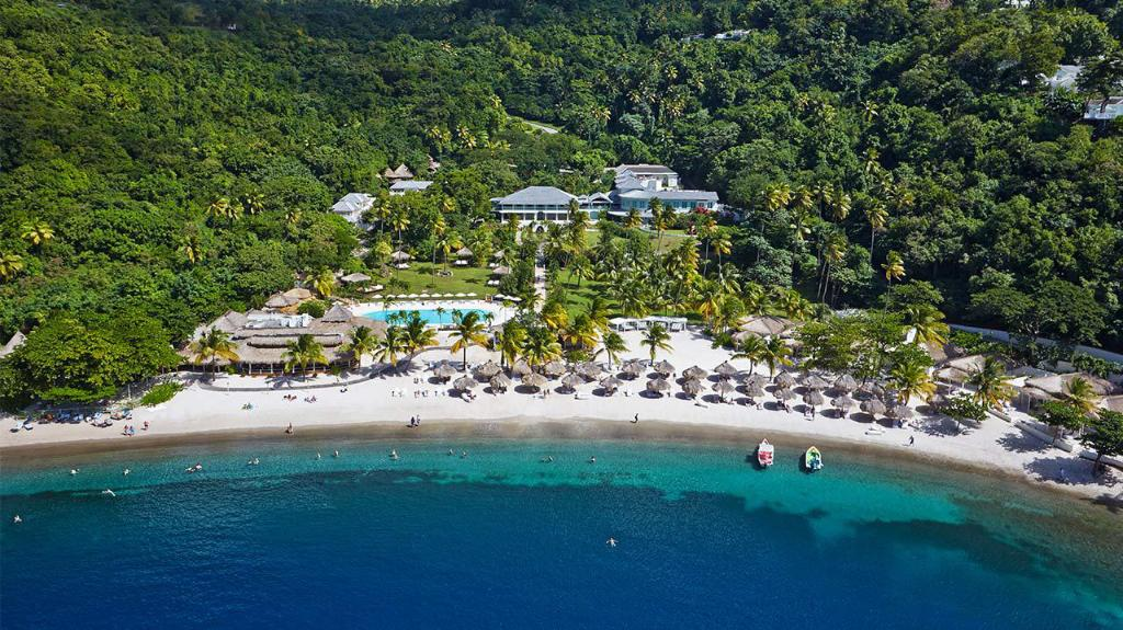 Sugar Beach Viceroy is a five-star resort located in St Lucia.