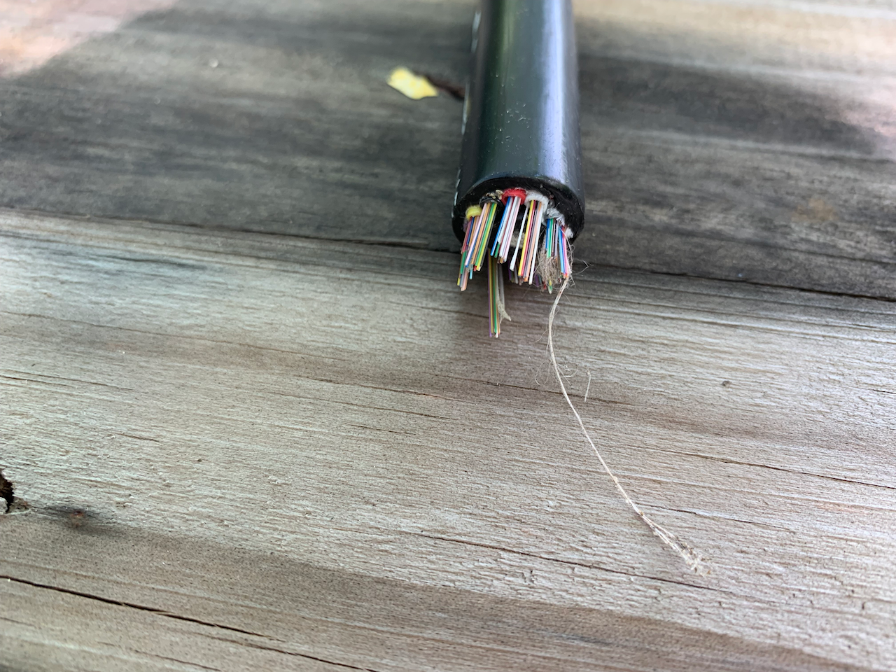 Fiber Optic cabling used on the project has double the fibers needed (for redundancy) and provides a 'future proof' infrastructure for the Resort.