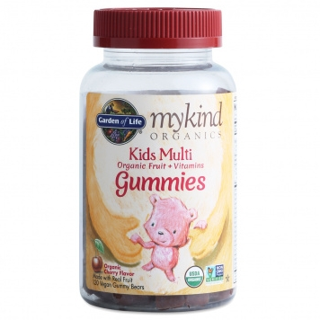 Garden of Life MyKind  Organics Kid's Multi Gummies  (cherry)