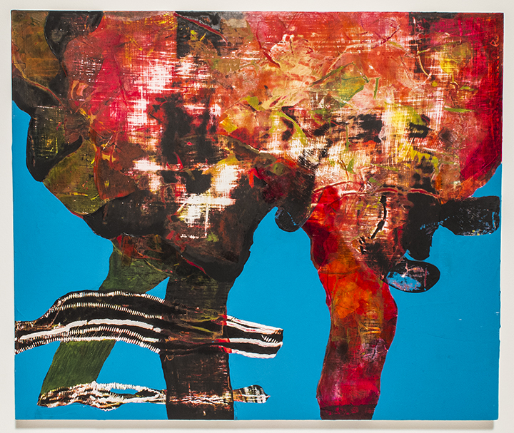 """Curdle, 2013, acrylic on panel, 20""""x24"""", Private Collection"""