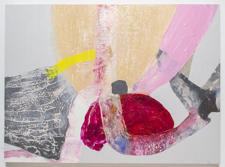 Swaddle, 2013, acrylic on panel, POR
