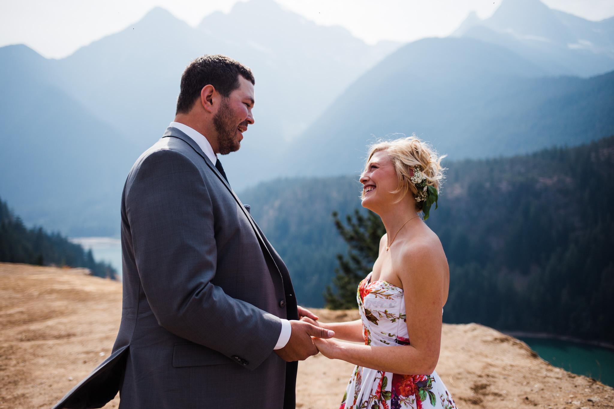 Bri + Donald | North Cascades Wedding